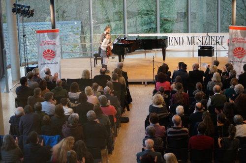 Das Preisträger-Konzert auf Schloss Homburg findet in der Neuen Orangerie statt. (Foto: Museum und Forum Schloss Homburg)