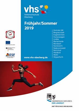 Titel des Programmheftes Frühjahr/Sommer 2019 der VHS Oberberg  (Foto: VHS Oberberg)